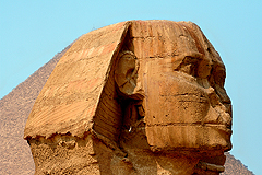 Der Sphinx in Giseh